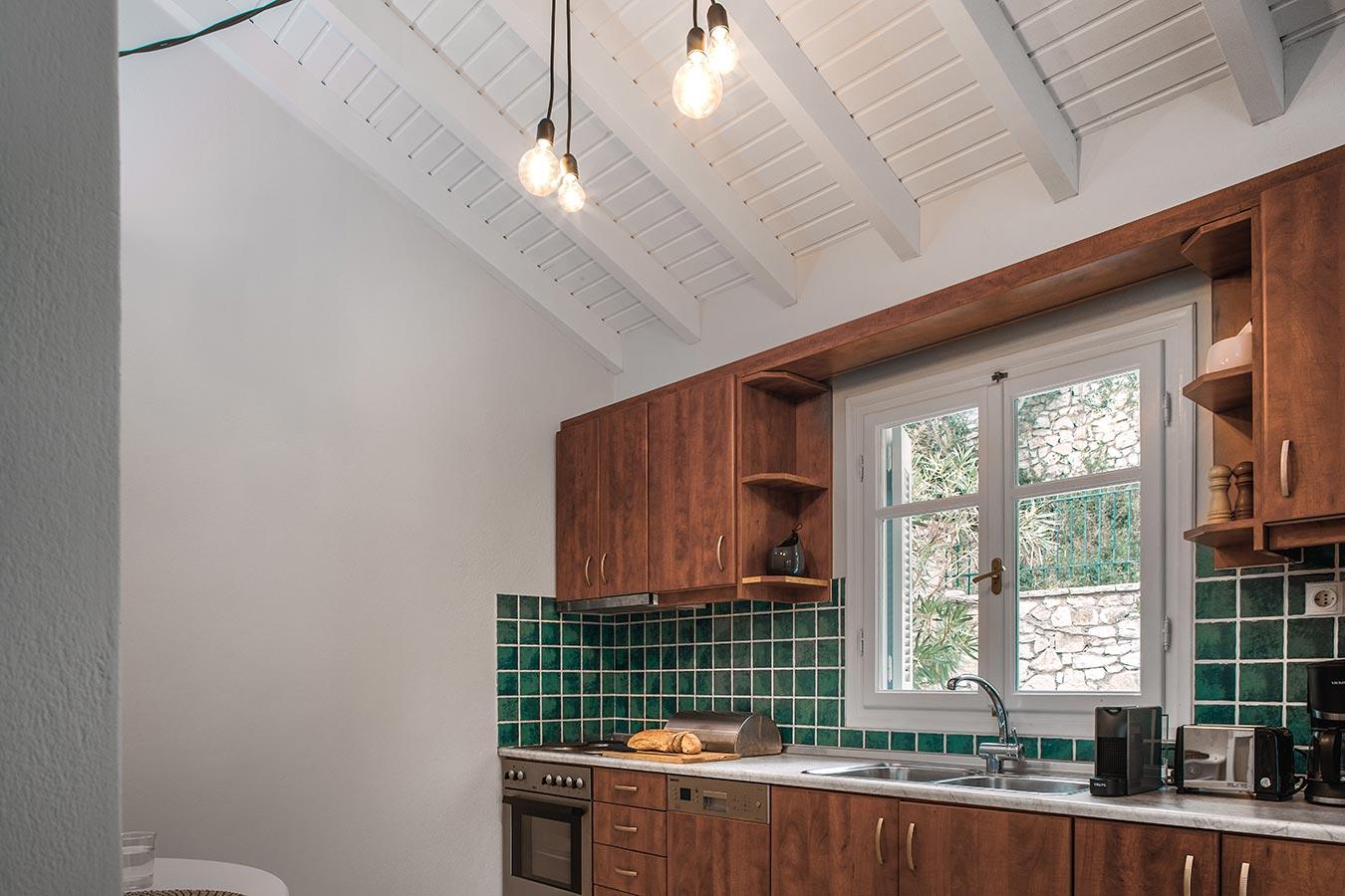 Dandelion Villas Paxos Jasmine Villa Kitchen