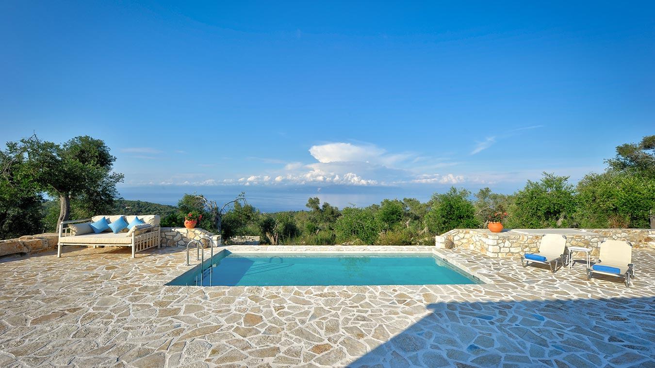 Dandelion Villas Paxos Semeli Villa Pool