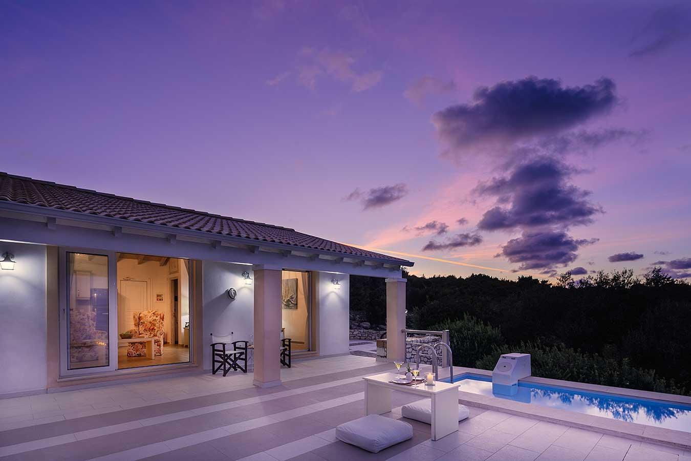 Lovers Nest Antipaxos Villa Terrace