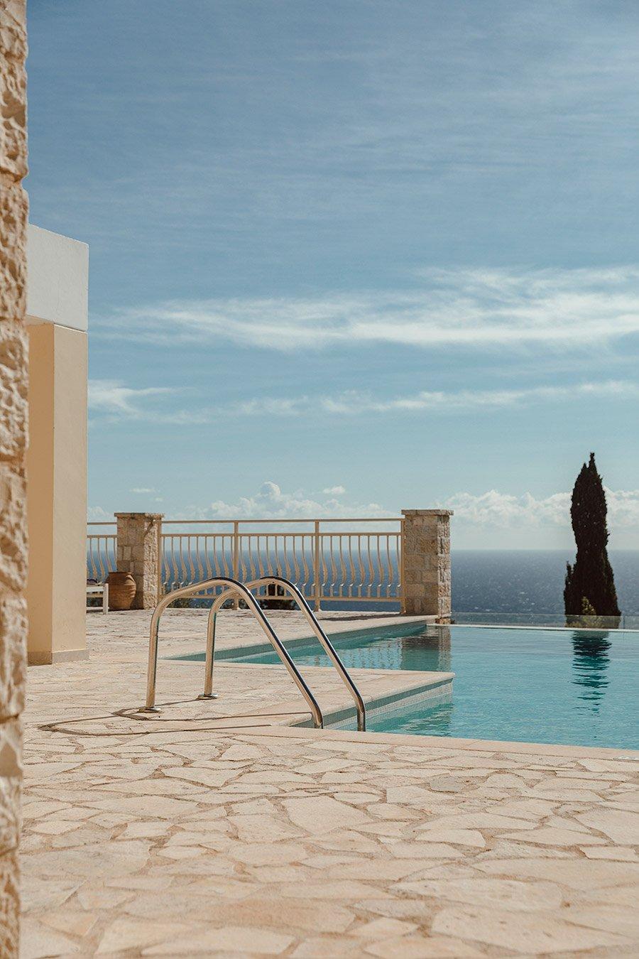 Kyparissi Villa Paxos Pool Details