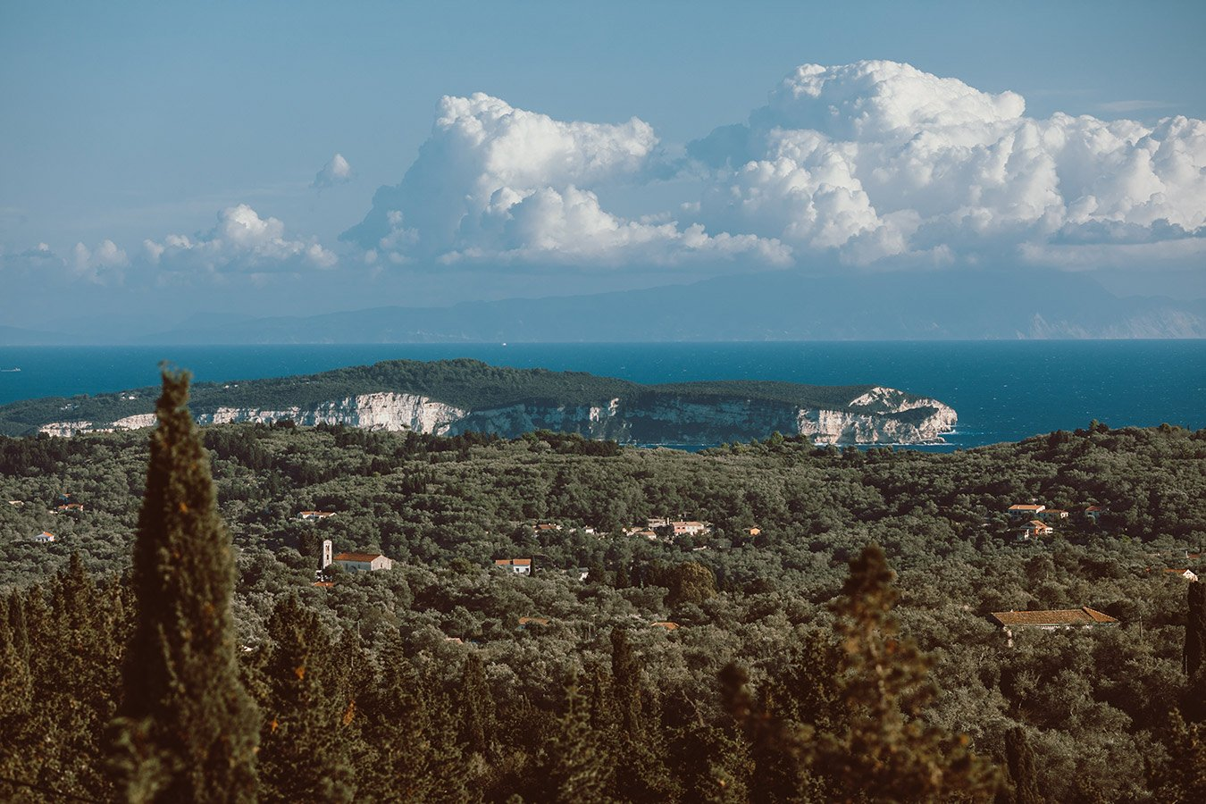 Kyparissi Villa Paxos View
