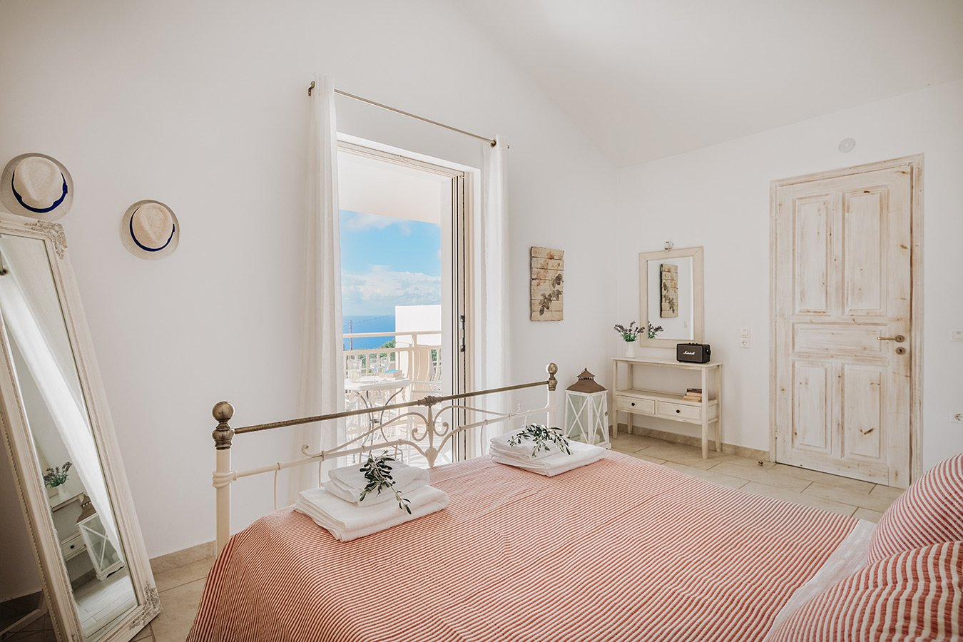 Kyparissi Villa Paxos Bedroom View