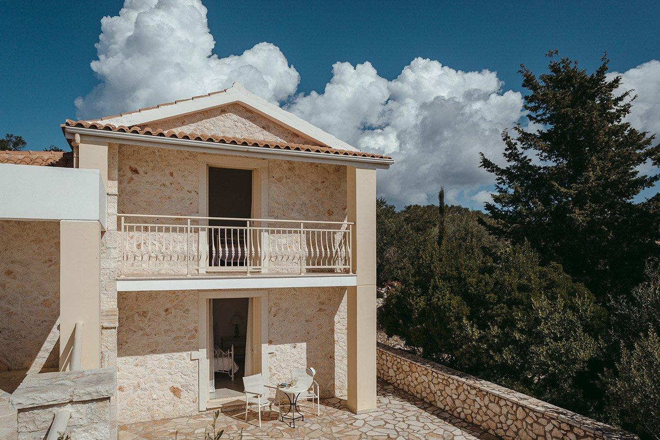 Kyparissi Villa Paxos Exterior Details