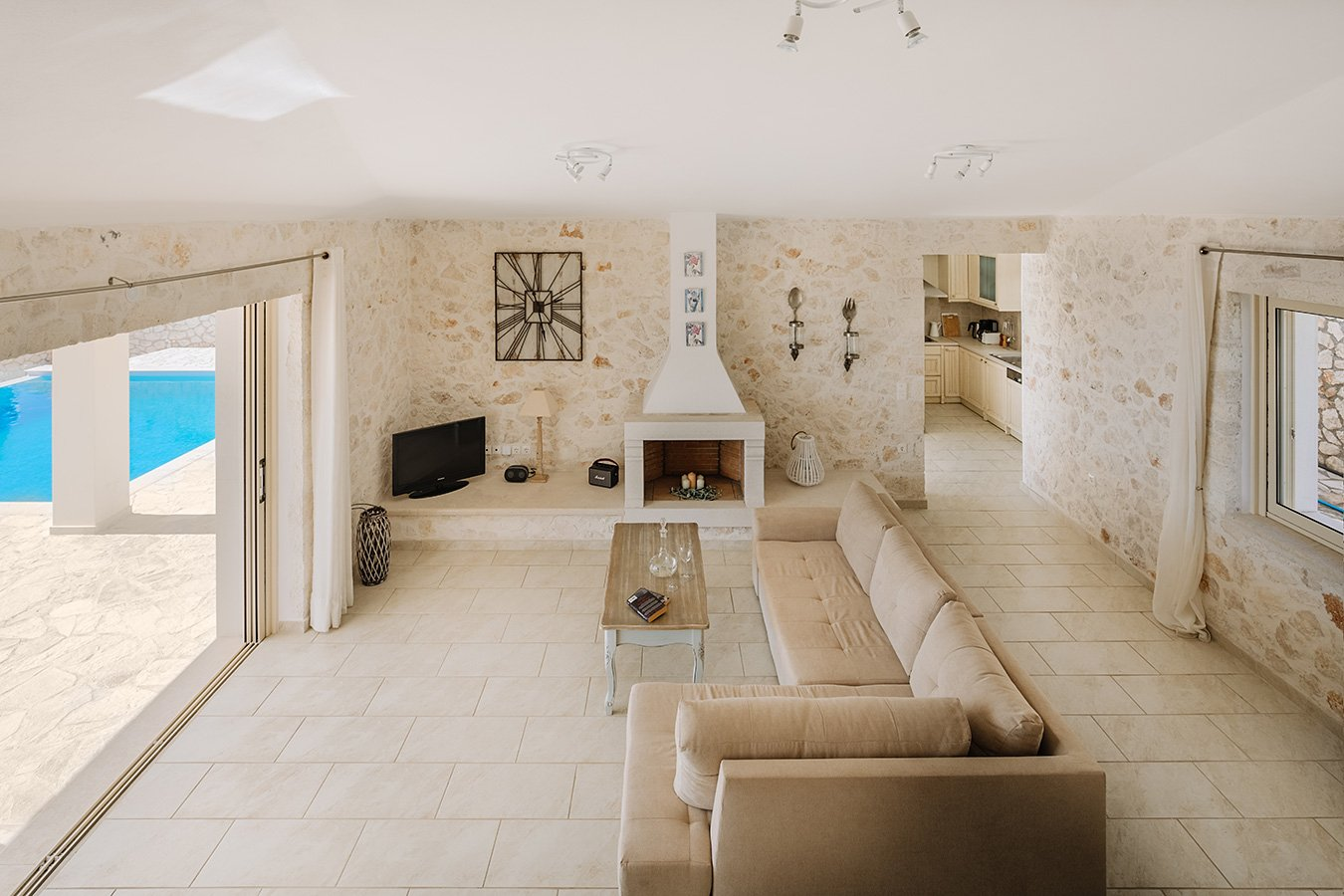 Kyparissi Villa Paxos Interior