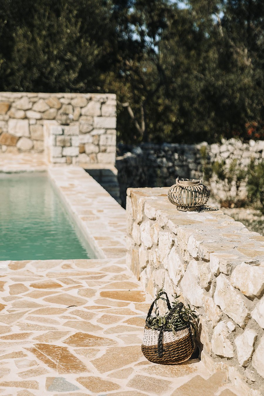 Sapfo Villa Paxos Pool Details