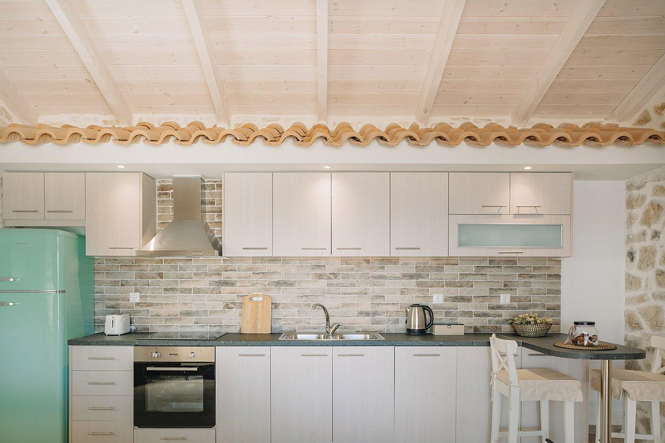 Sapfo Villa Paxos Kitchen