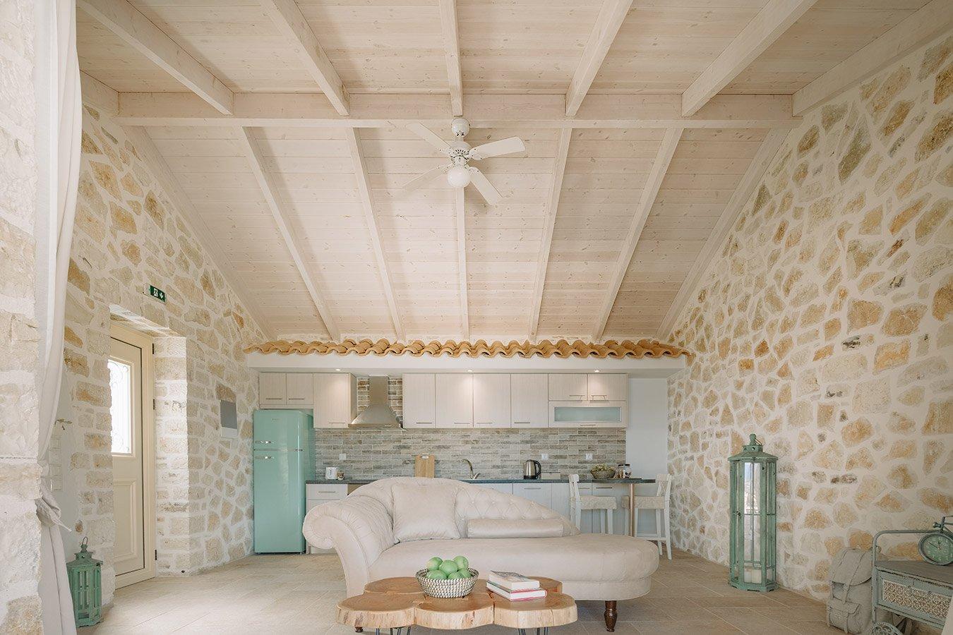 Sapfo Villa Paxos Livingroom
