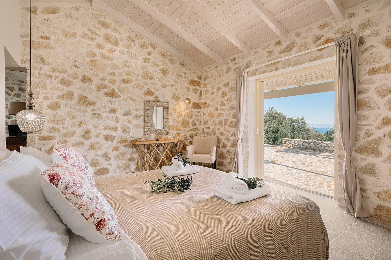 Sapfo Villa Paxos Bedroom 2