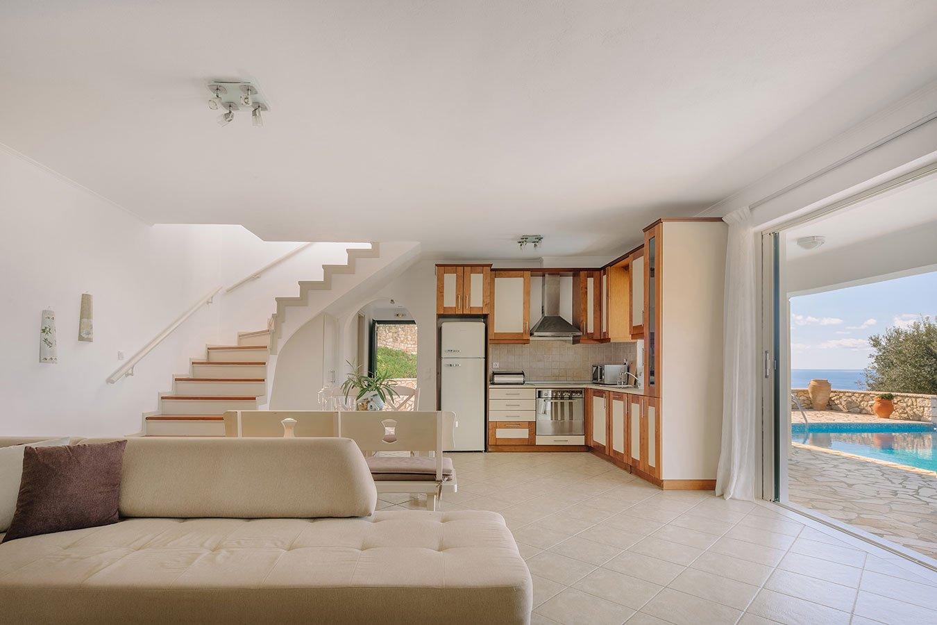Nika Villa Paxos Livingroom
